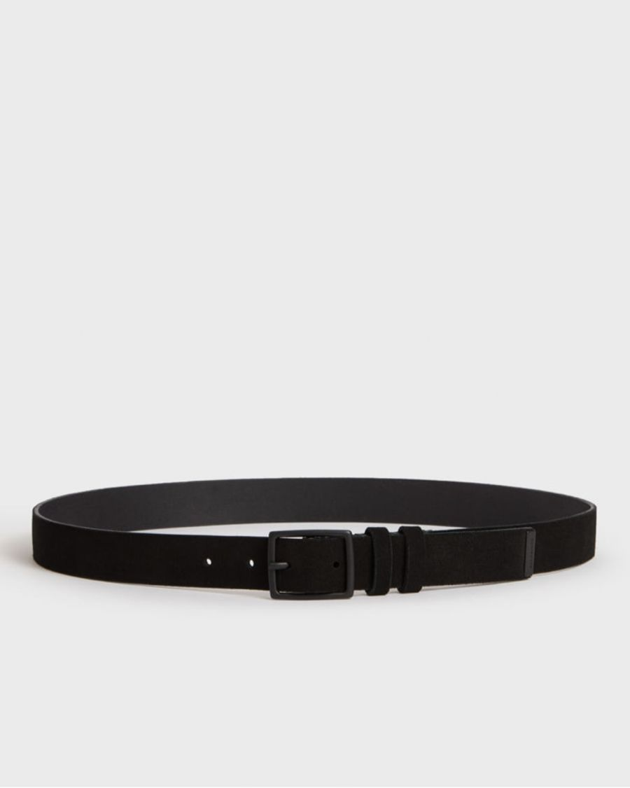 Product shot of the Ives Suede Belt.