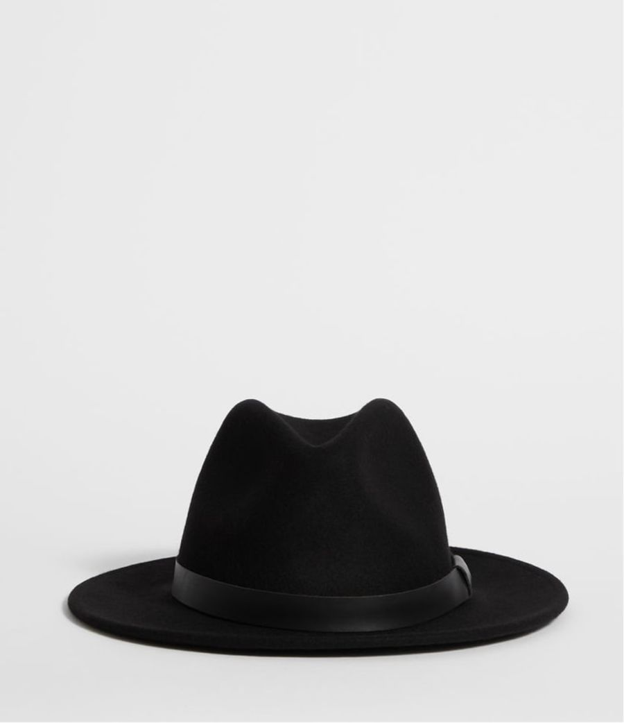 Product shot of the Bronson Fedora Hat.