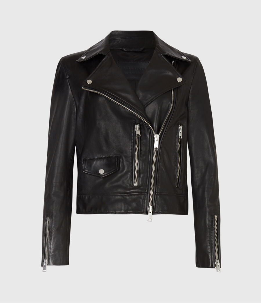 Shop our new collection of leather jackets.