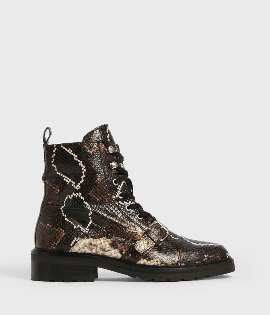 Shop the Donita Snake Boots.